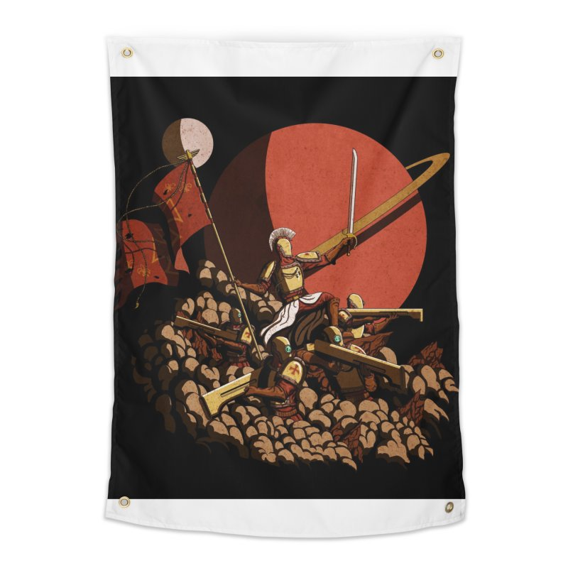 Onward, to Glory! Home Tapestry by Den of the Wolf