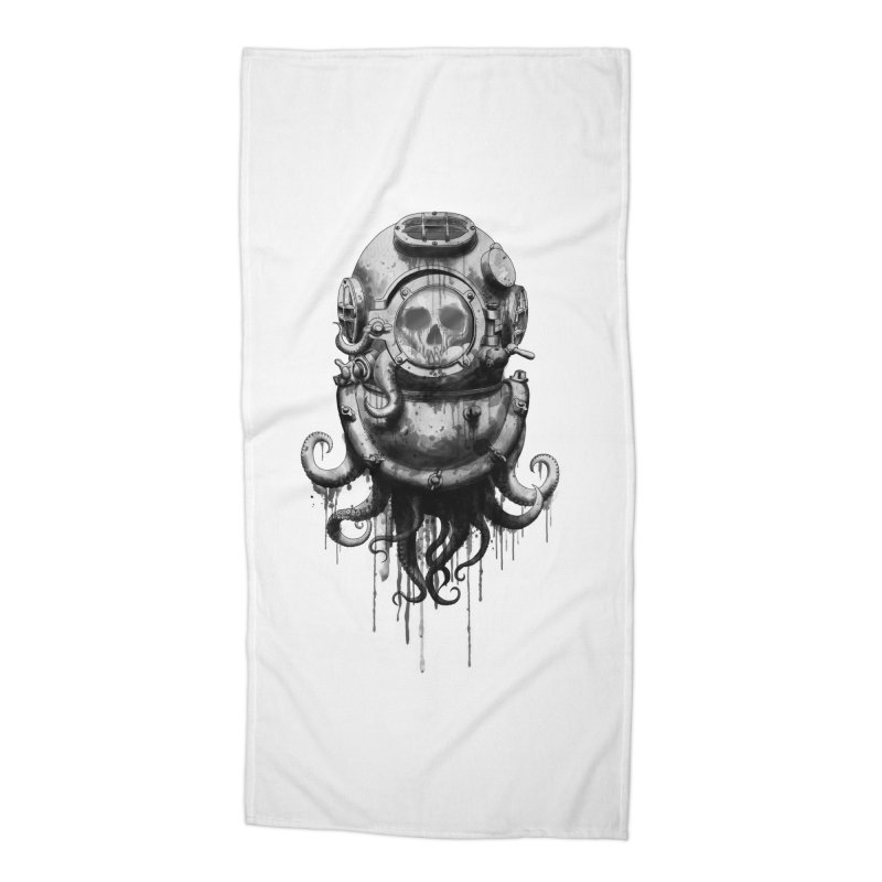 Of Salt and Nightmares Accessories Beach Towel by Den of the Wolf
