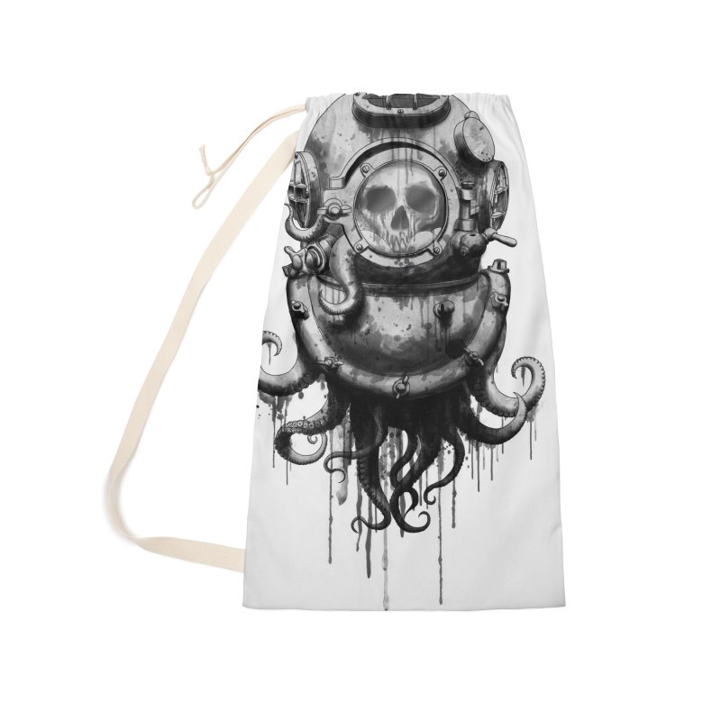 Of Salt and Nightmares Accessories Laundry Bag Bag by Den of the Wolf