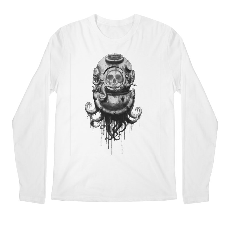 Of Salt and Nightmares Men's Longsleeve T-Shirt by Den of the Wolf