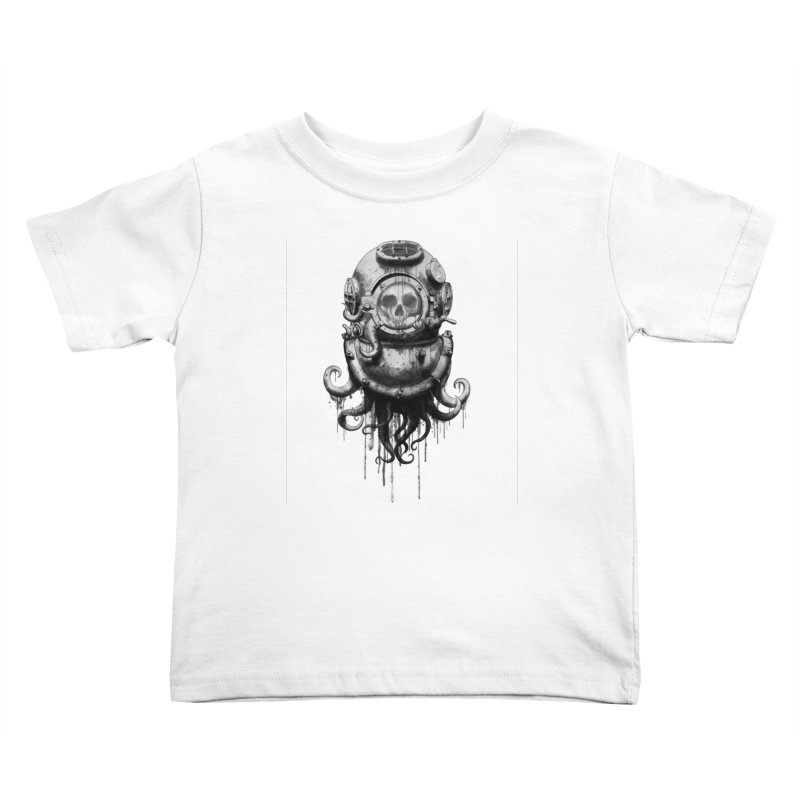 Of Salt and Nightmares Kids Toddler T-Shirt by Den of the Wolf