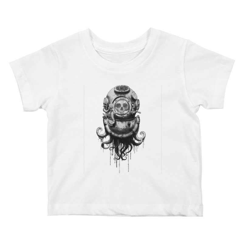 Of Salt and Nightmares Kids Baby T-Shirt by Den of the Wolf