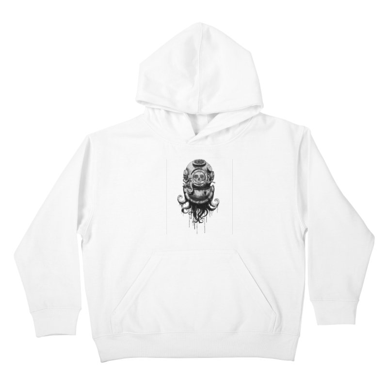 Of Salt and Nightmares Kids Pullover Hoody by Den of the Wolf