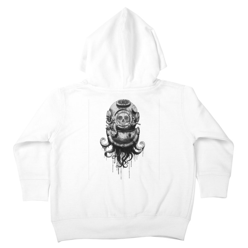 Of Salt and Nightmares Kids Toddler Zip-Up Hoody by Den of the Wolf
