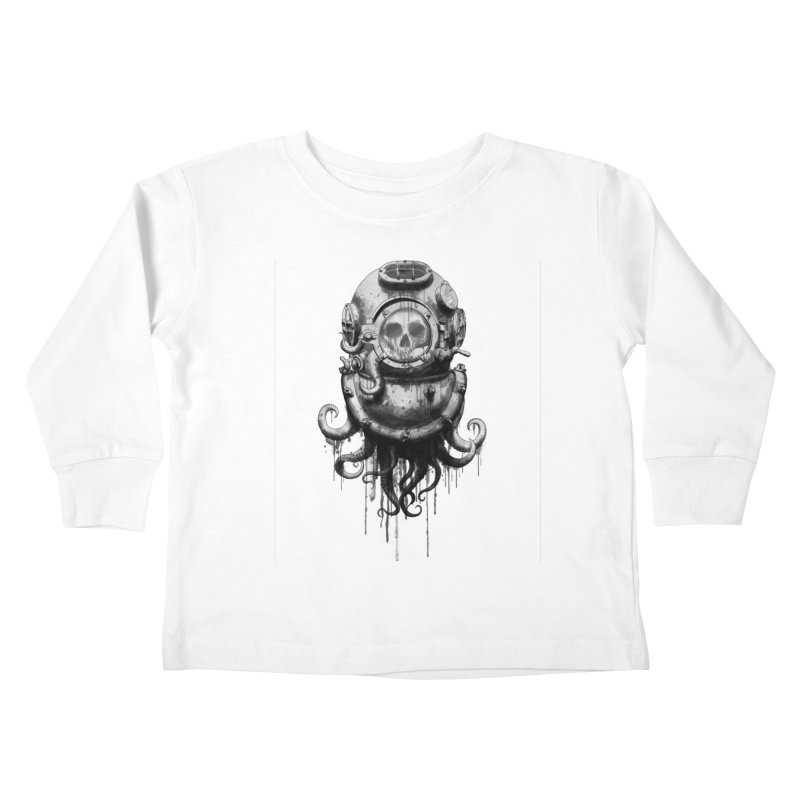 Of Salt and Nightmares Kids Toddler Longsleeve T-Shirt by Den of the Wolf