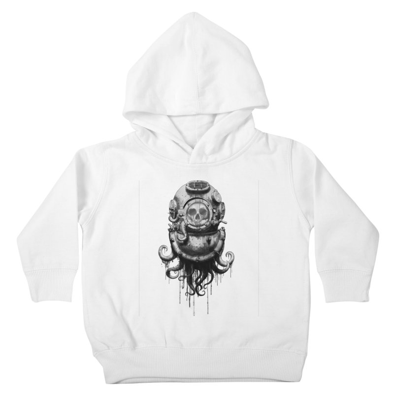 Of Salt and Nightmares Kids Toddler Pullover Hoody by Den of the Wolf