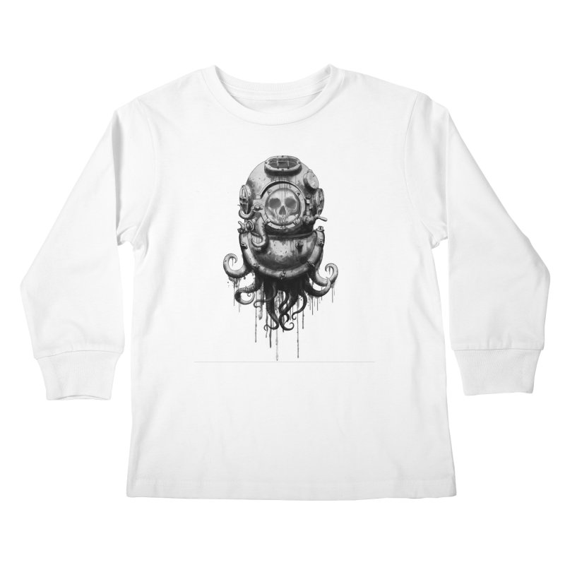 Of Salt and Nightmares Kids Longsleeve T-Shirt by Den of the Wolf