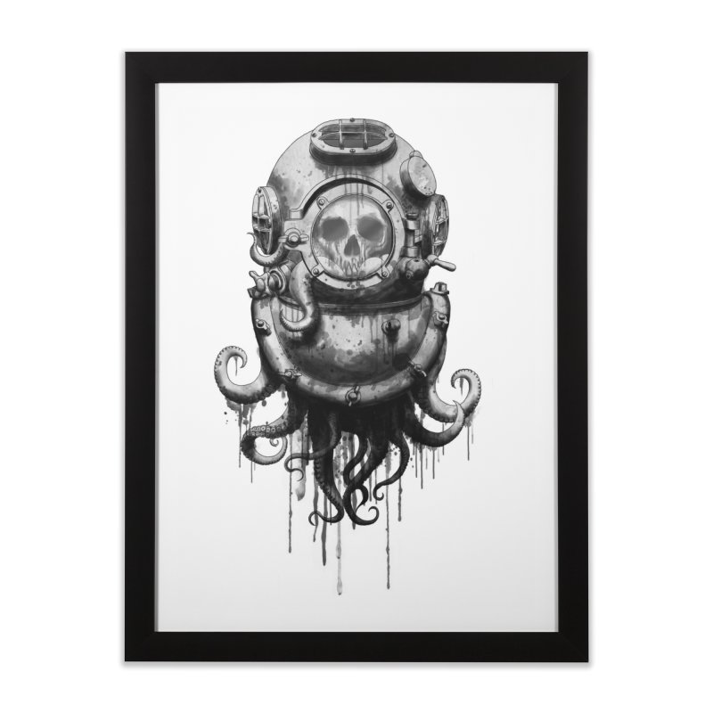 Of Salt and Nightmares Home Framed Fine Art Print by Den of the Wolf