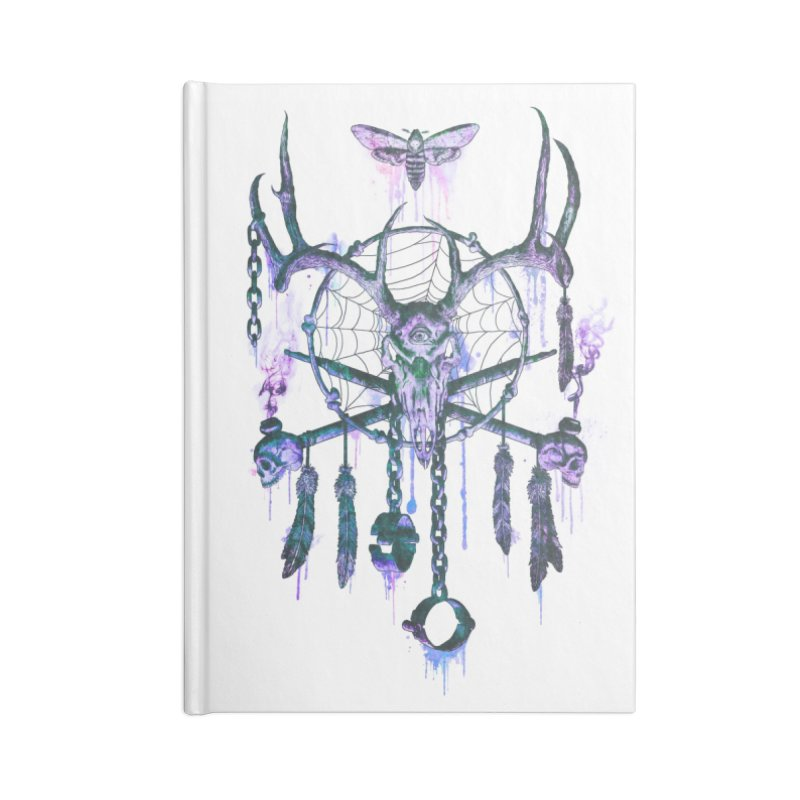 Of Dreams and Nightmares Accessories Lined Journal Notebook by Den of the Wolf