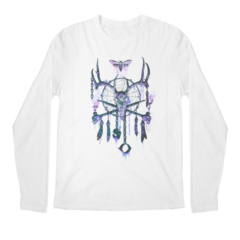 Of Dreams and Nightmares Men's Longsleeve T-Shirt by Den of the Wolf