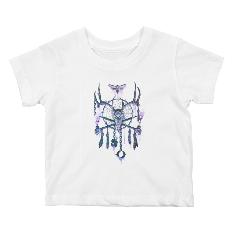 Of Dreams and Nightmares Kids Baby T-Shirt by Den of the Wolf