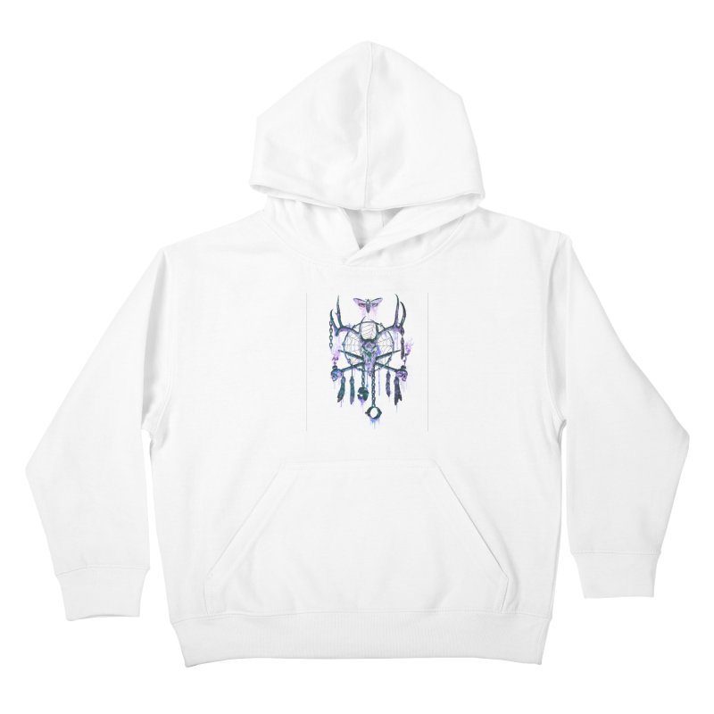 Of Dreams and Nightmares Kids Pullover Hoody by Den of the Wolf