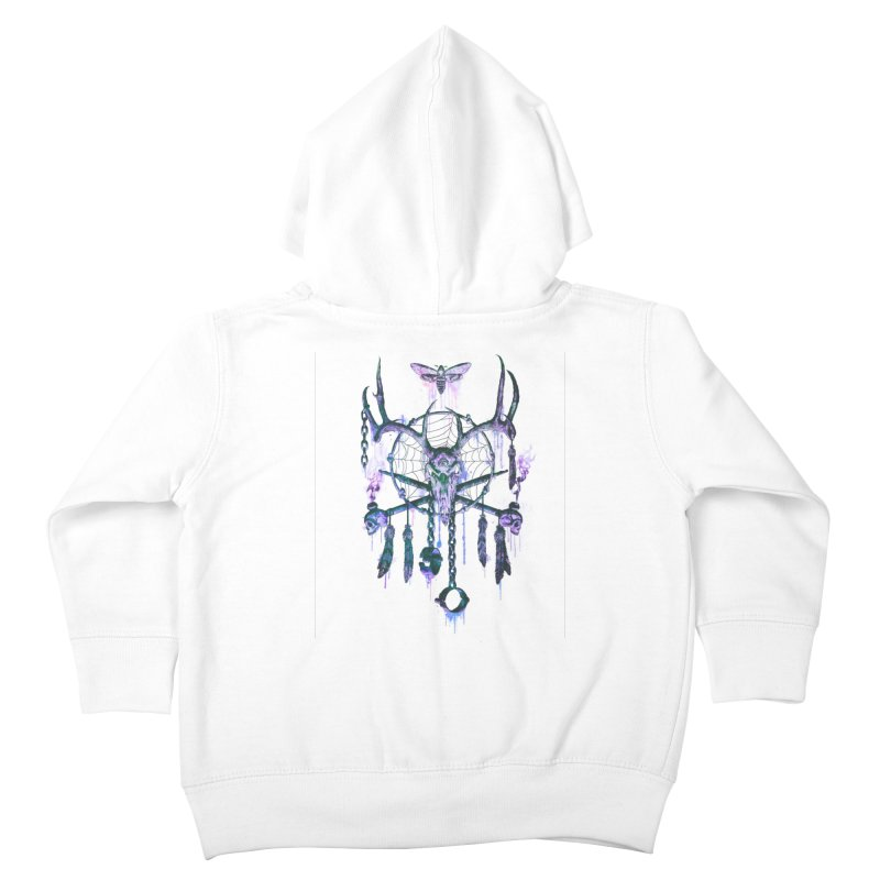 Of Dreams and Nightmares Kids Toddler Zip-Up Hoody by Den of the Wolf