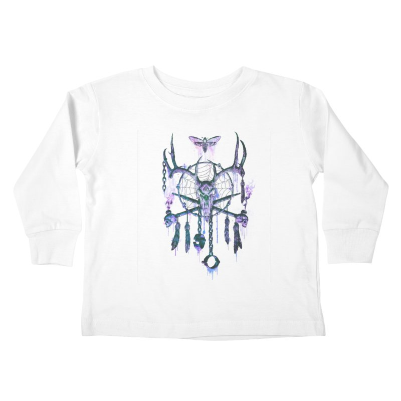 Of Dreams and Nightmares Kids Toddler Longsleeve T-Shirt by Den of the Wolf