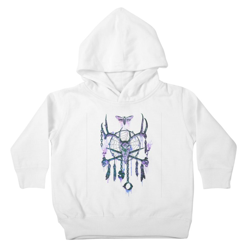 Of Dreams and Nightmares Kids Toddler Pullover Hoody by Den of the Wolf