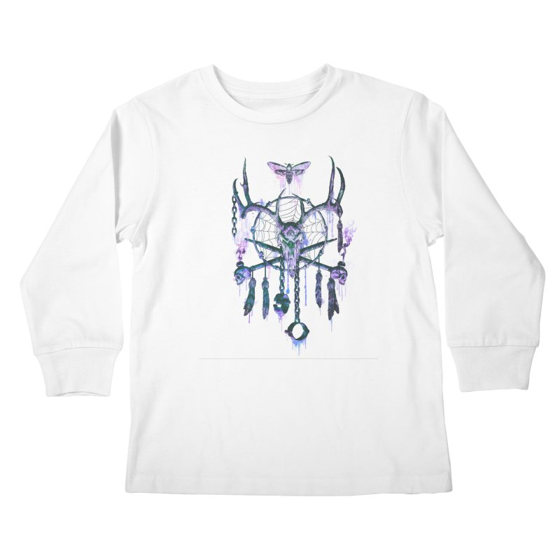 Of Dreams and Nightmares Kids Longsleeve T-Shirt by Den of the Wolf