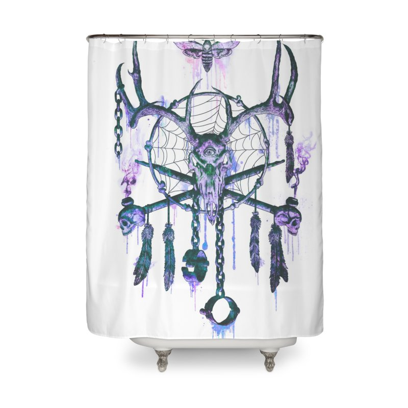 Of Dreams and Nightmares Home Shower Curtain by Den of the Wolf