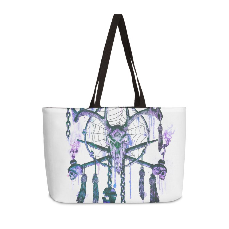 Of Dreams and Nightmares Accessories Weekender Bag Bag by Den of the Wolf