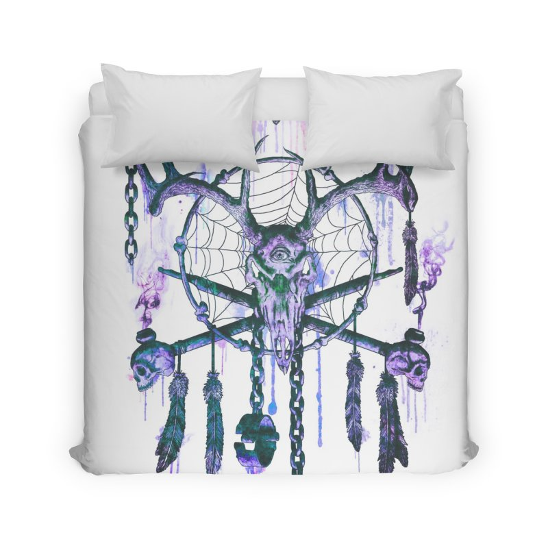 Of Dreams and Nightmares Home Duvet by Den of the Wolf