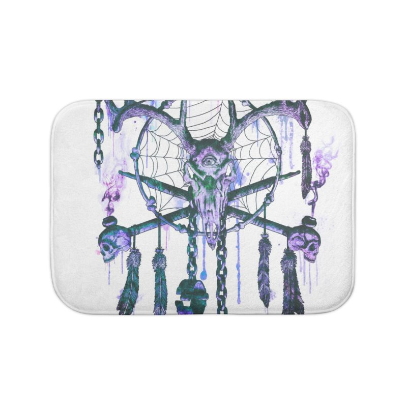 Of Dreams and Nightmares Home Bath Mat by Den of the Wolf