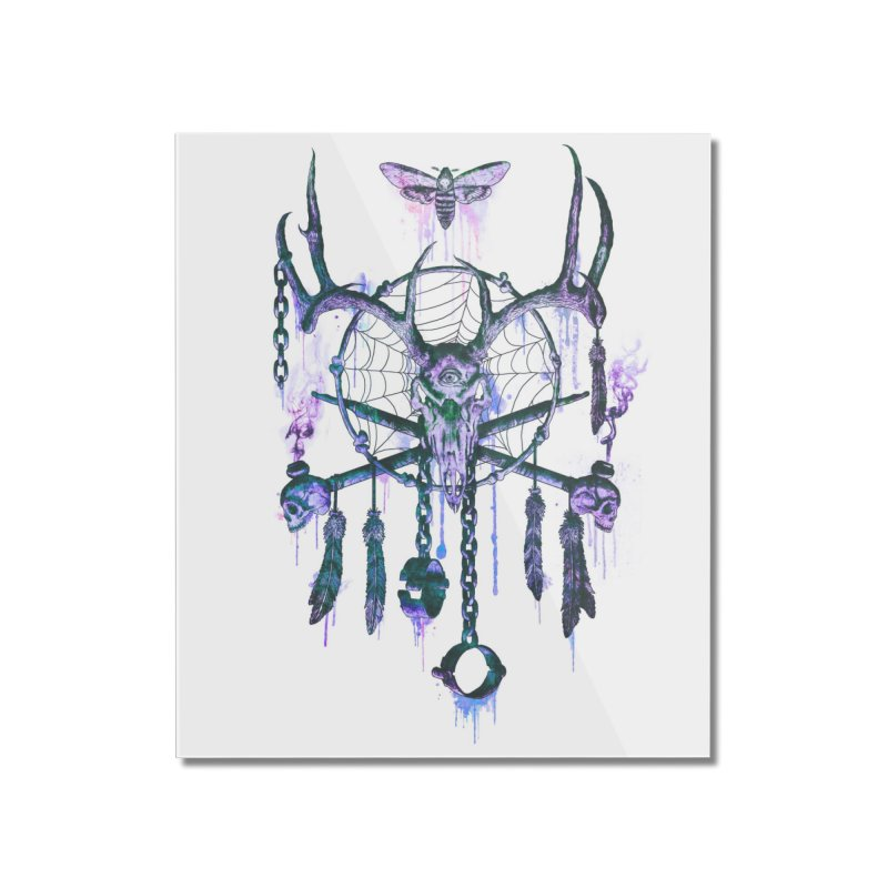 Of Dreams and Nightmares Home Mounted Acrylic Print by Den of the Wolf