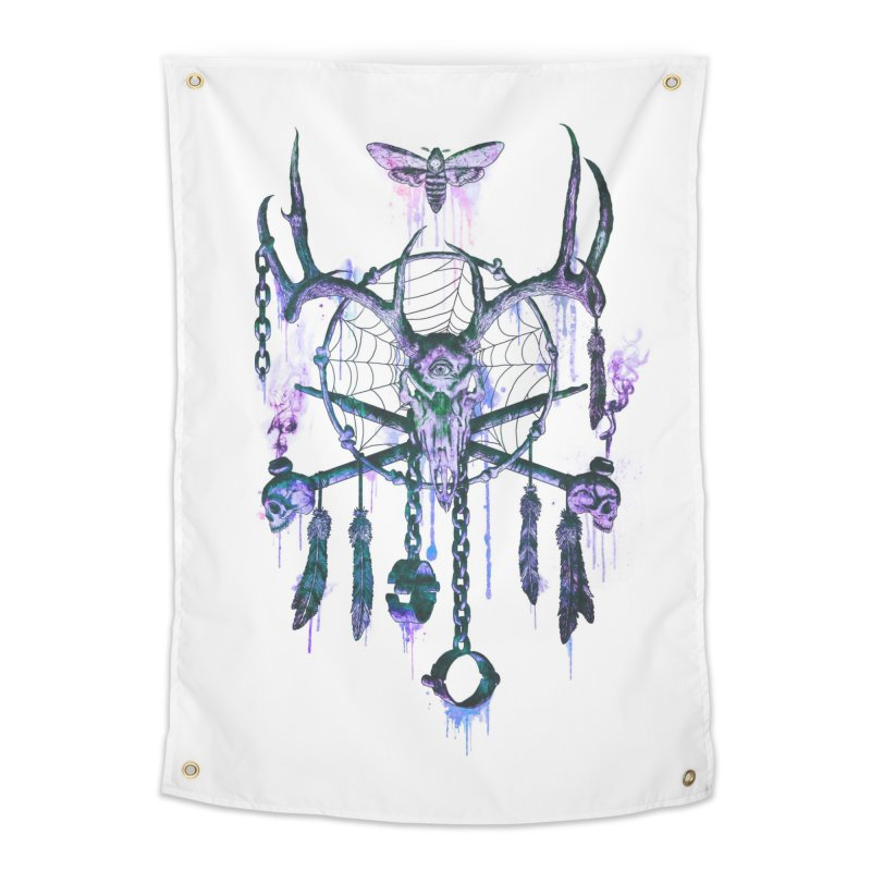 Of Dreams and Nightmares Home Tapestry by Den of the Wolf