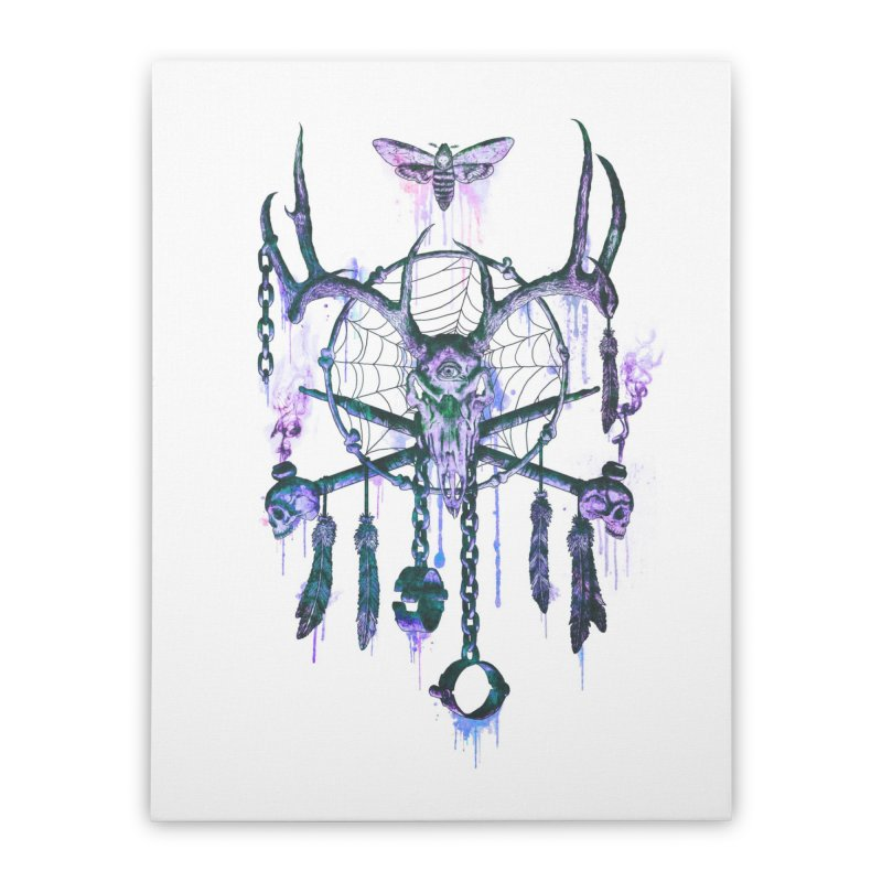 Of Dreams and Nightmares Home Stretched Canvas by Den of the Wolf