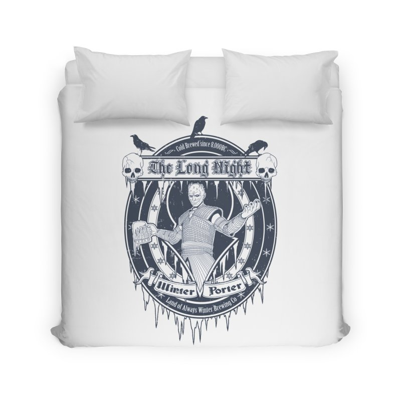 The Long Night Winter Porter Home Duvet by Den of the Wolf