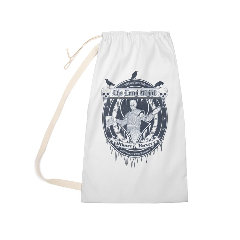 The Long Night Winter Porter Accessories Laundry Bag Bag by Den of the Wolf