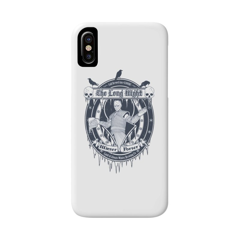 The Long Night Winter Porter Accessories Phone Case by Den of the Wolf
