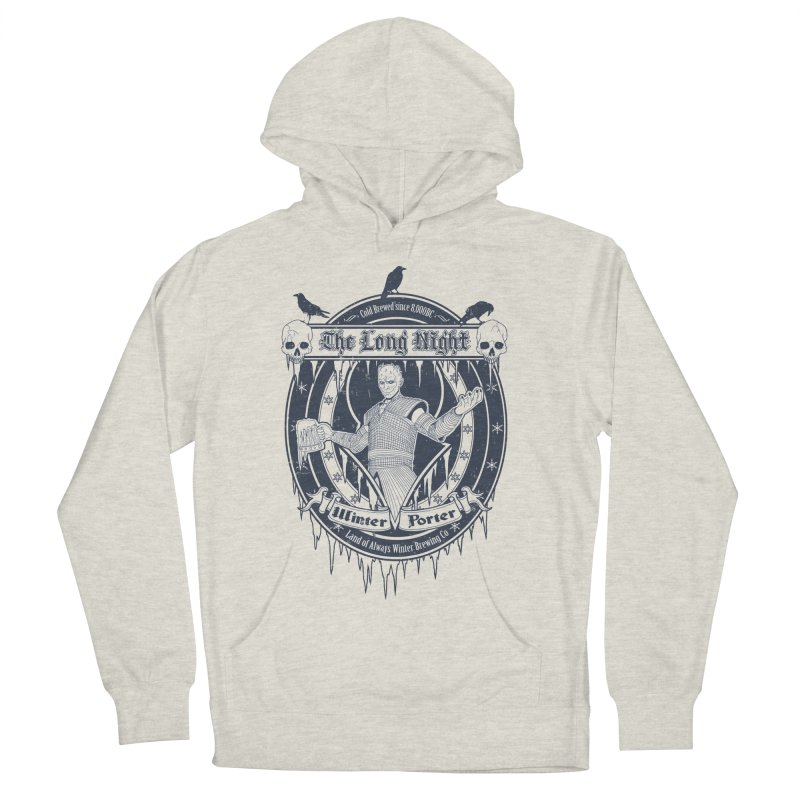 The Long Night Winter Porter Women's French Terry Pullover Hoody by Den of the Wolf