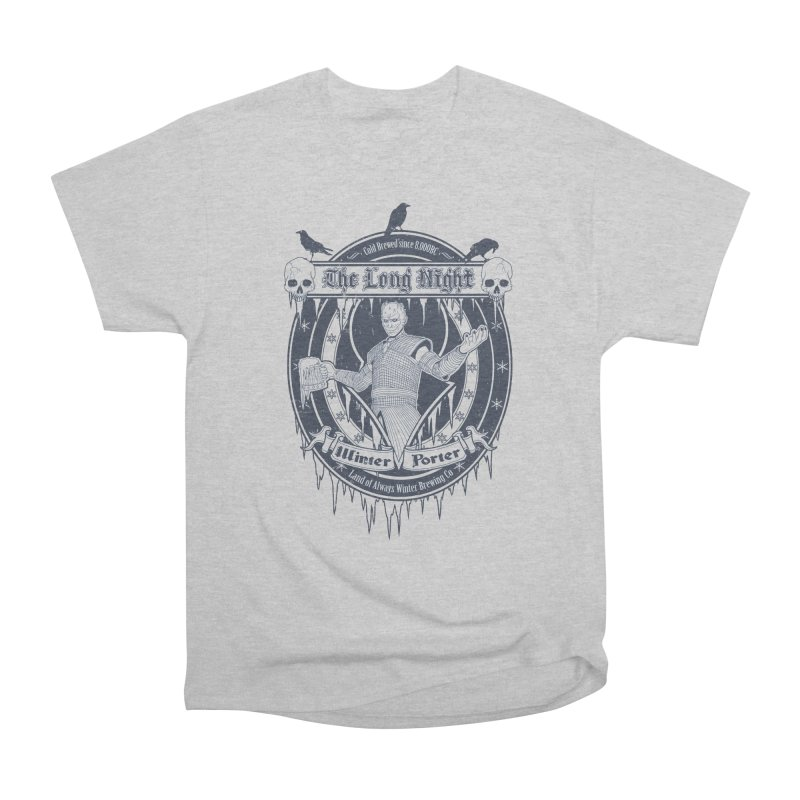 The Long Night Winter Porter Men's Classic T-Shirt by Den of the Wolf