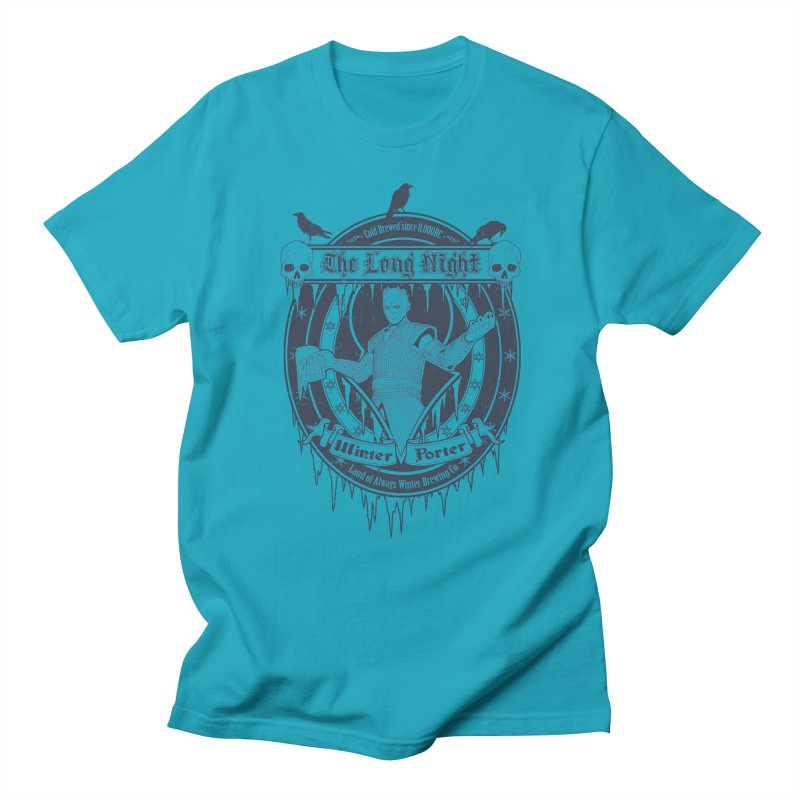 The Long Night Winter Porter Men's Regular T-Shirt by Den of the Wolf