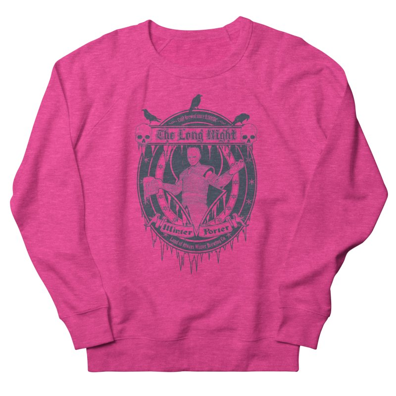 The Long Night Winter Porter Women's Sweatshirt by Den of the Wolf