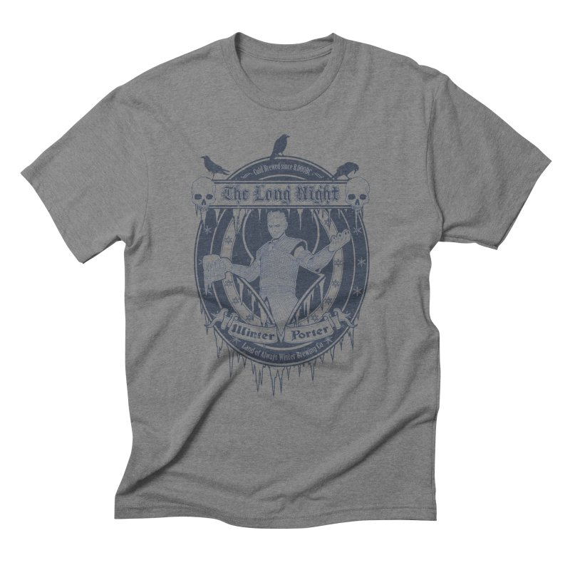 The Long Night Winter Porter Men's Triblend T-Shirt by Den of the Wolf