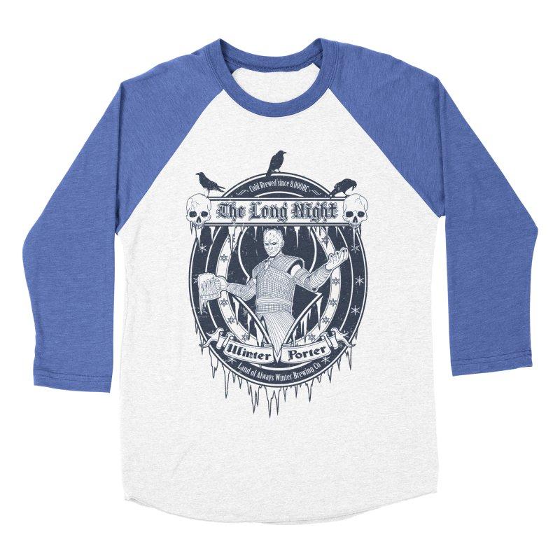 The Long Night Winter Porter Men's Baseball Triblend T-Shirt by Den of the Wolf
