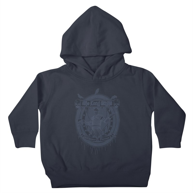 The Long Night Winter Porter Kids Toddler Pullover Hoody by Den of the Wolf