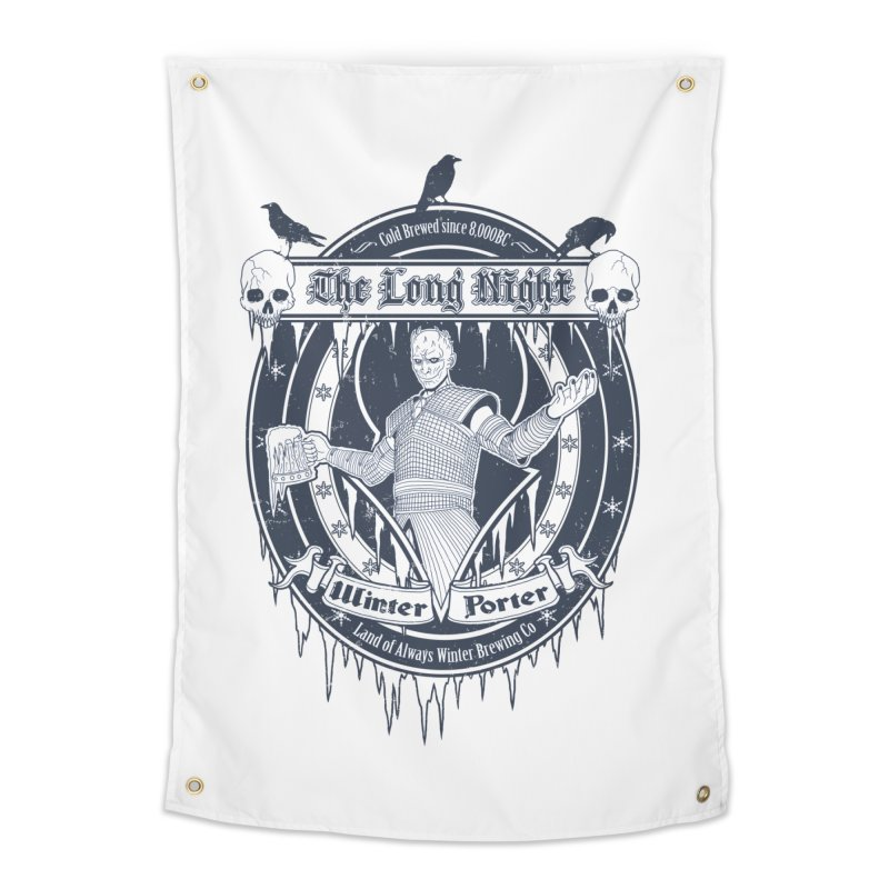 The Long Night Winter Porter Home Tapestry by Den of the Wolf
