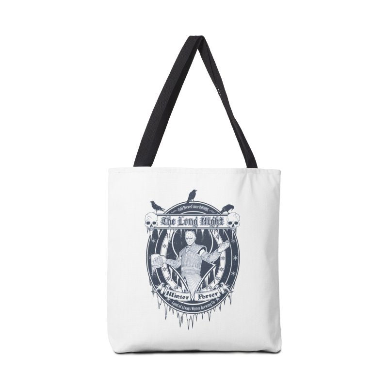 The Long Night Winter Porter Accessories Tote Bag Bag by Den of the Wolf