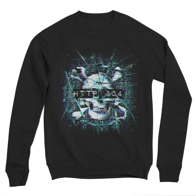 FATAL ERROR Men's Sponge Fleece Sweatshirt by Den of the Wolf