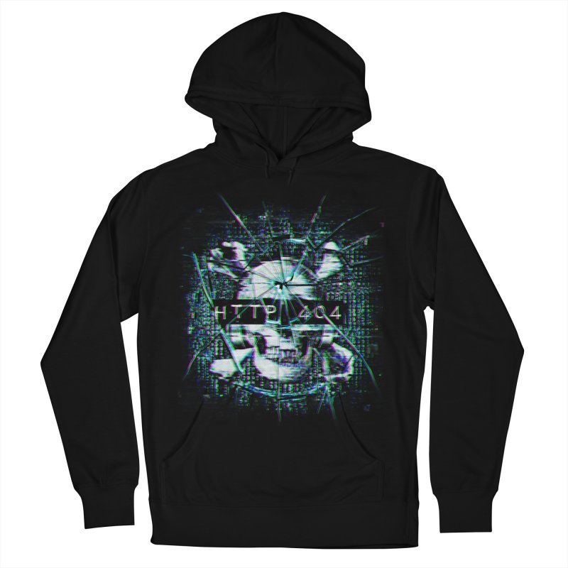 FATAL ERROR Women's French Terry Pullover Hoody by Den of the Wolf