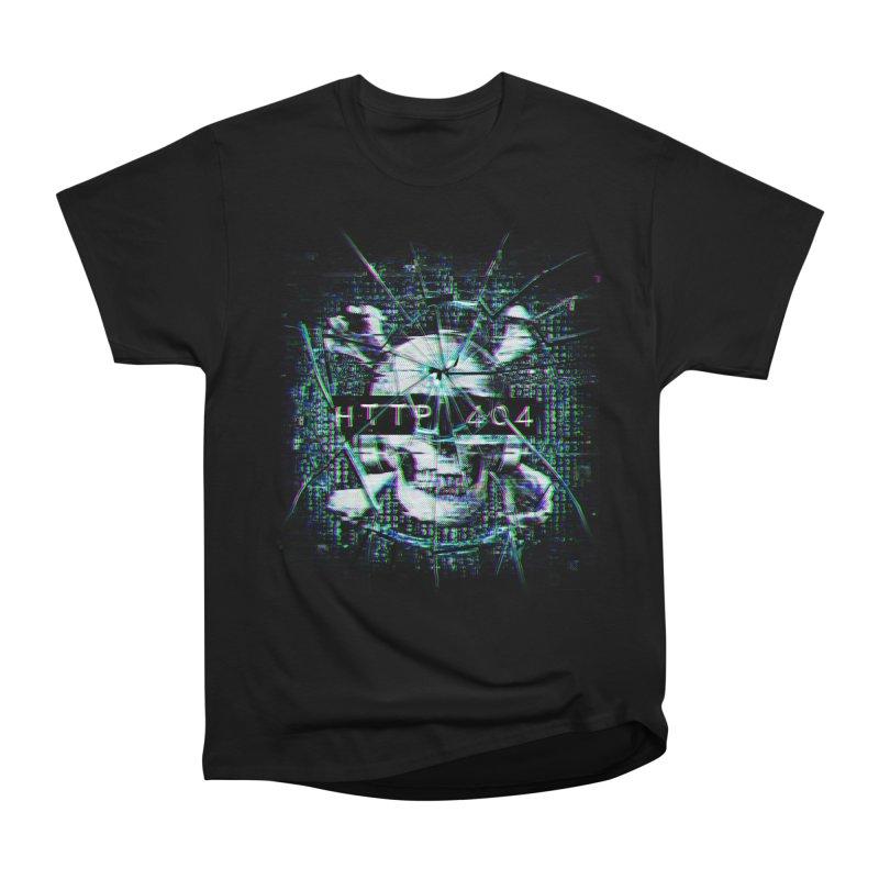FATAL ERROR Women's Heavyweight Unisex T-Shirt by Den of the Wolf