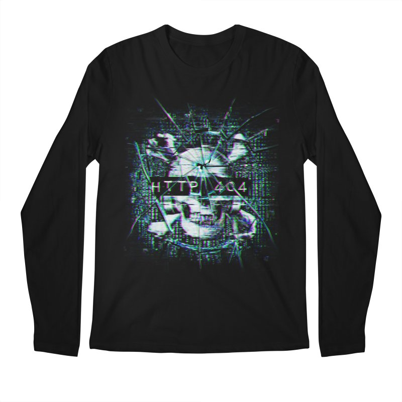 FATAL ERROR Men's Regular Longsleeve T-Shirt by Den of the Wolf