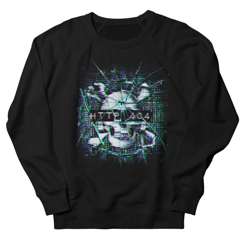 FATAL ERROR Men's French Terry Sweatshirt by Den of the Wolf