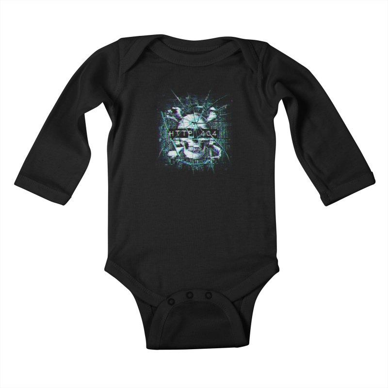 FATAL ERROR Kids Baby Longsleeve Bodysuit by Den of the Wolf