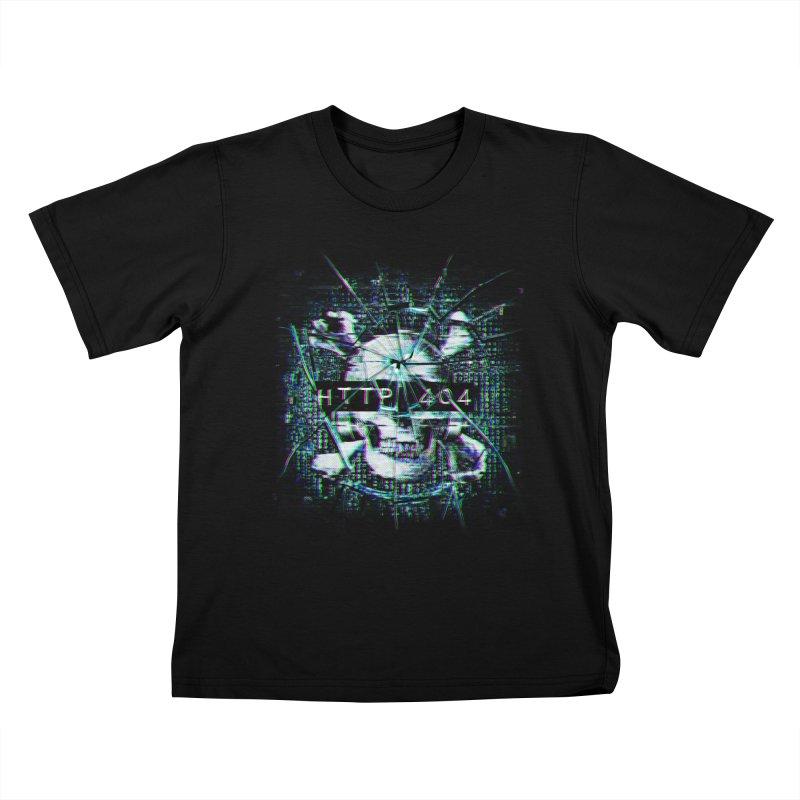 FATAL ERROR Kids T-Shirt by Den of the Wolf