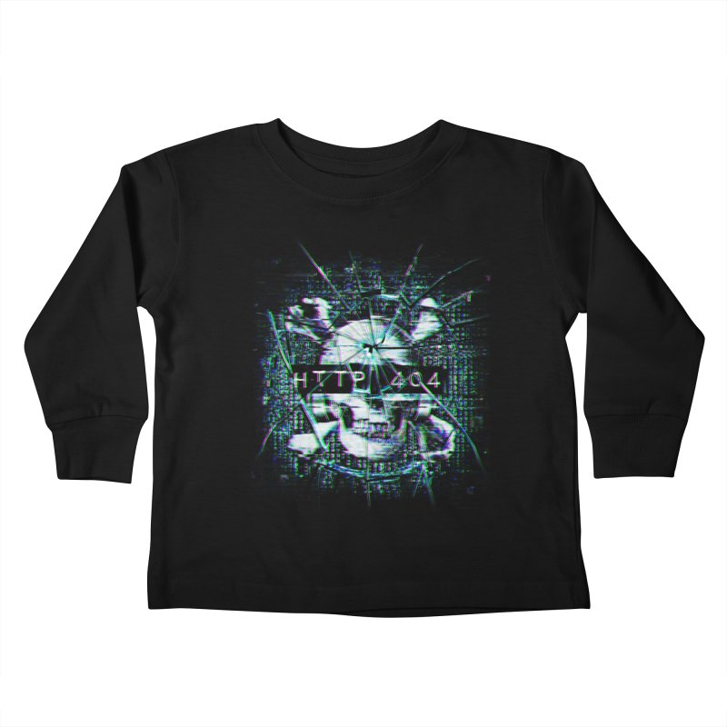 FATAL ERROR Kids Toddler Longsleeve T-Shirt by Den of the Wolf