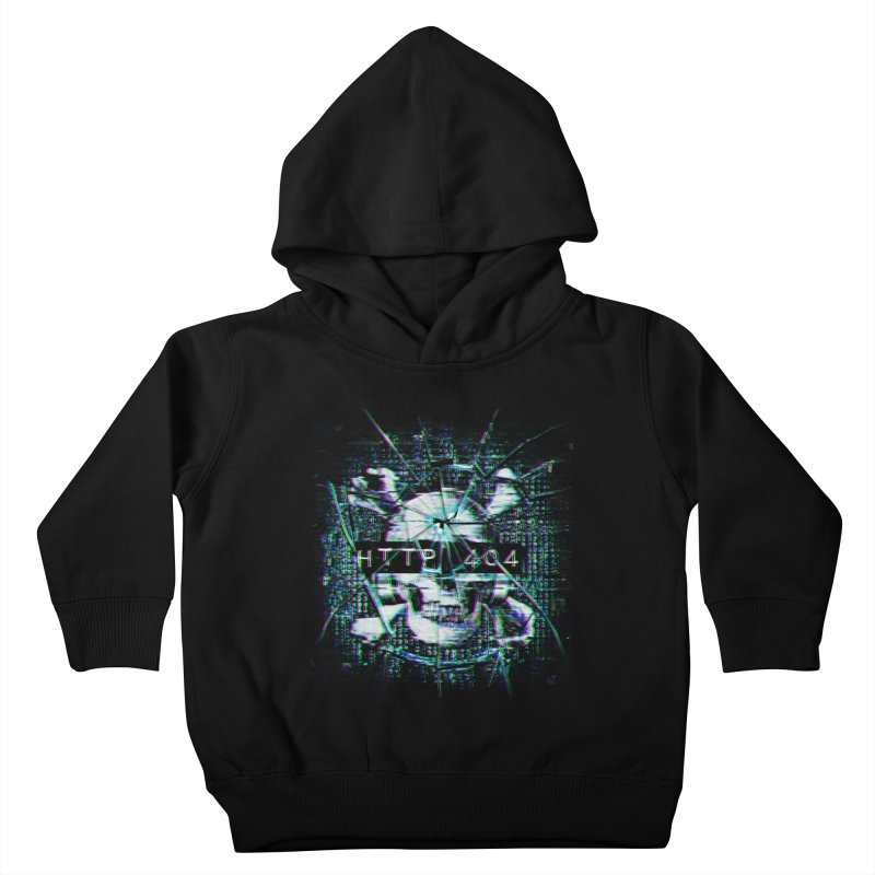 FATAL ERROR Kids Toddler Pullover Hoody by Den of the Wolf