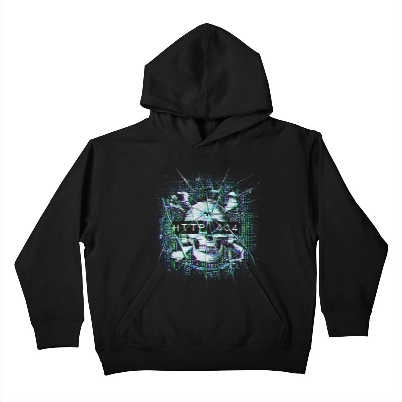 FATAL ERROR Kids Pullover Hoody by Den of the Wolf