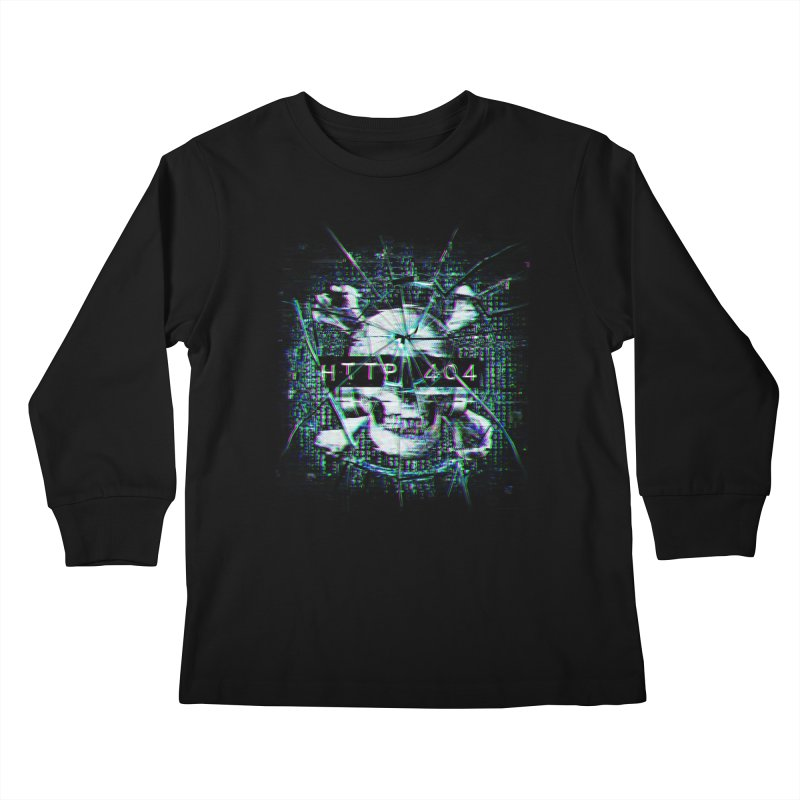 FATAL ERROR Kids Longsleeve T-Shirt by Den of the Wolf